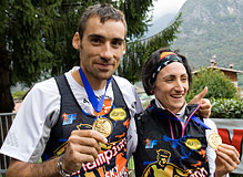 Luis Alberto Hernando and Oihana Kortazar 2011 world champions. Photo: ©LongLight