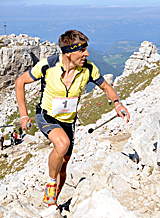 Italy's Urban Zemmer, VK world record holder.  Photo:  Elvis